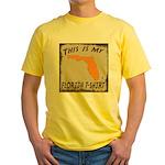 My Florida T-Shirt Yellow T-Shirt