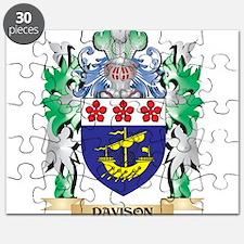 Davison Coat of Arms (Family Crest) Puzzle
