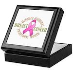 Breast Cancer Month Keepsake Box