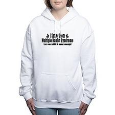 Cute Cute bunny Women's Hooded Sweatshirt