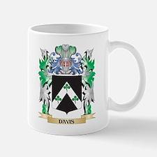 Davis Coat of Arms (Family Crest) Mugs
