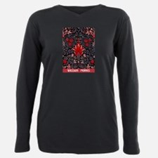 Arts and Crafts Movement Plus Size Long Sleeve Tee