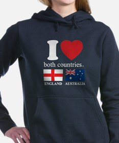 ENGLAND-AUSTRALIA Women's Hooded Sweatshirt