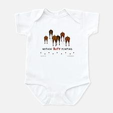 Nothin' Butt MinPins Infant Bodysuit