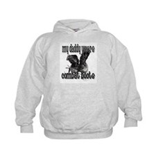 My Daddy Wears Combat Boots Hoodie