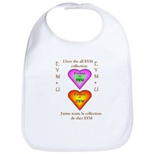 I LOVE THE ALL EYM COLLECTION Bib