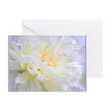 Funny Peonies Greeting Card
