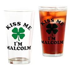 Unique Malcolm Drinking Glass