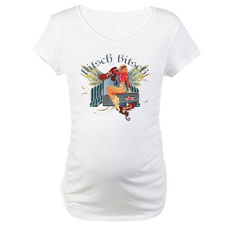 Kitsch Bitsch Fly Girl Maternity T-Shirt