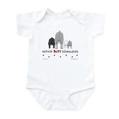 Nothin' Butt Schnauzers Infant Bodysuit