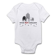 Nothin' Butt Schnauzers Infant Bodysuit