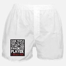 raised fav player Boxer Shorts