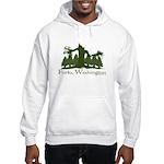 Forks, WA Hooded Sweatshirt
