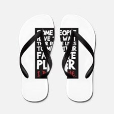 raised fav player Flip Flops