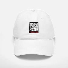 raised fav player Baseball Baseball Cap