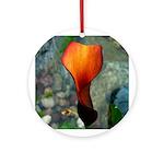 Red Calla Lily Ornament (Round)