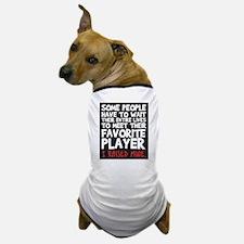 raised fav player Dog T-Shirt