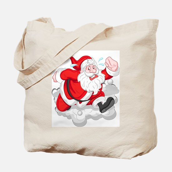 Cute Jogging suit Tote Bag