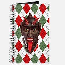 plaid monster krampus Journal