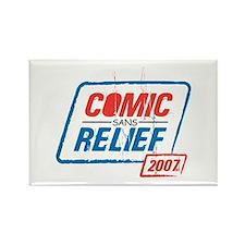 COMIC sans RELIEF Rectangle Magnet (10 pack)