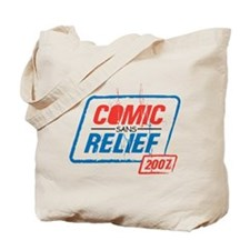COMIC sans RELIEF Tote Bag