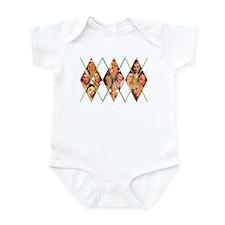 Vintage Argyle Infant Bodysuit