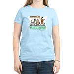 Powered by Veggies Women's Light T-Shirt
