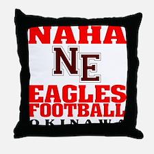 Naha Eagles Throw Pillow