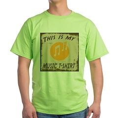 My Music T-Shirt T-Shirt