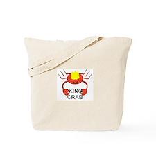 KING CRAB Tote Bag