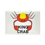 KING CRAB Rectangle Magnet (100 pack)