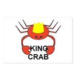 KING CRAB Postcards (Package of 8)