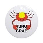 KING CRAB Ornament (Round)