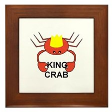 KING CRAB Framed Tile