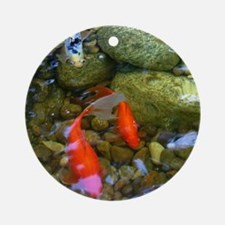 Koi Pond Ornament (Round)