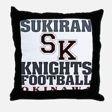 Sukiran Knights Throw Pillow