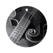 Mandolin Too Ornament (Round)