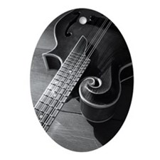 Mandolin Too Oval Ornament