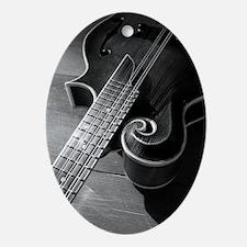 Mandolin Too Oval Ornament