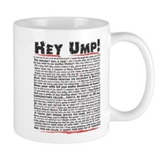 Hey Ump Baseball Mug
