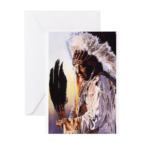 indian2 Greeting Cards
