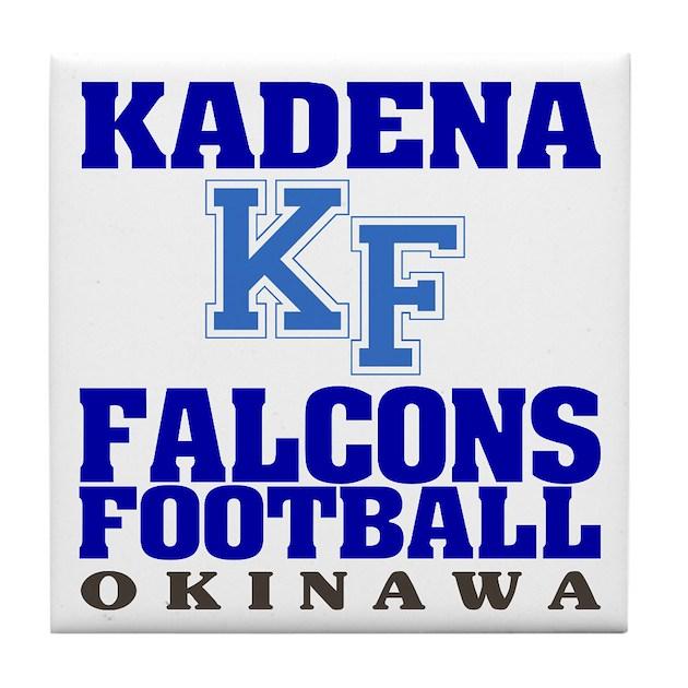 Kadena Decorative Pillow : Kadena Falcons Tile Coaster by mdg_store