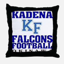 Kadena Falcons Throw Pillow