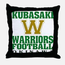 KHS Warriors Throw Pillow