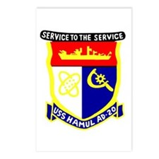 USS Hamul (AD 20) Postcards (Package of 8)