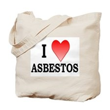 """I Heart Asbestos"" Tote Bag"