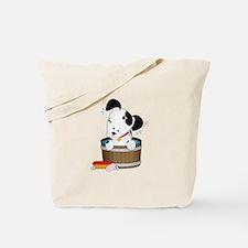 Doggie Bath Tote Bag