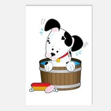 Doggie Bath Postcards (Package of 8)