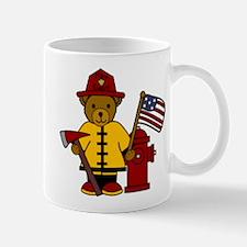 Firefighter Bear Mug