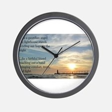 Lighthouse, friend Wall Clock